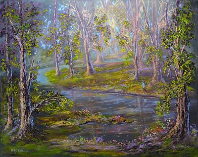 Walk In The Woods Original by Michael Mrozik