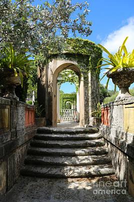 Photograph - Walk In Vizcaya Gardens by Carol Groenen