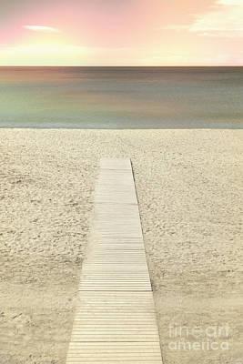 Walk On A Beach Original by Margie Hurwich