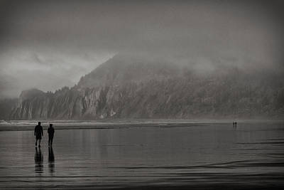 Photograph - Walk On A Wild Beach by Robert Woodward