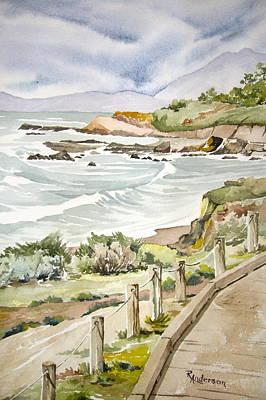 Walk The Boardwalk Original by Ruthanne Anderson