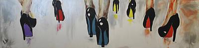 Painting - Walk The Walk by Lucy Matta - Lulu