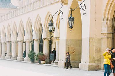 Cracovia Photograph - Walk Through History by Pati Photography