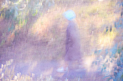 Photograph - Walk Through The Light And Shadows. Impressionism by Jenny Rainbow