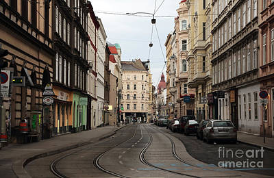 Photograph - Walk Through Vienna by John Rizzuto