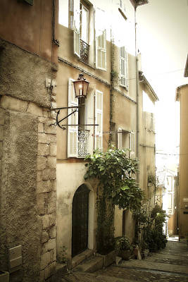 Photograph - Walk Through Villefranche by Julie Palencia