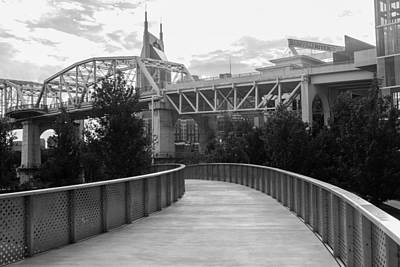 Photograph - Walk To The Bridge by Robert Hebert