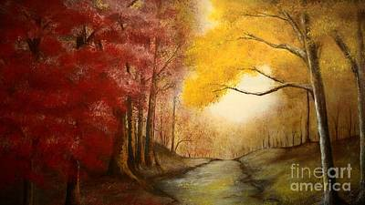 Walk With Me Original by Paula Higgenbotham  Johnson