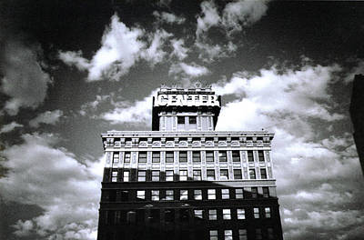 Art Print featuring the photograph Walker Building by Tarey Potter