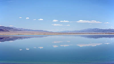 Photograph - Walker Lake Mirror by Jennifer Nelson