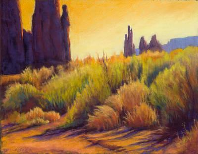 Painting - Walk In The Wash by Marjie Eakin-Petty