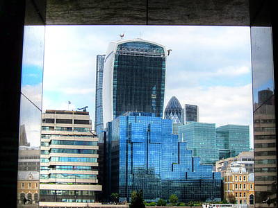 British Photograph - Walkie Talkie Building by Andreas Thust