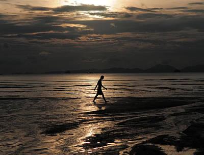 Photograph - Walking Alone by Mark Sullivan
