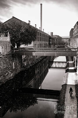 Industrial Photograph - Walking Along The C And O by Olivier Le Queinec