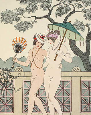 Walking Around Naked As Much As We Can Art Print