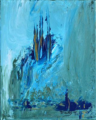 Walking Away From Atlantis Art Print