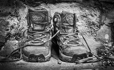 Photograph - Walking Boots by Gary Gillette