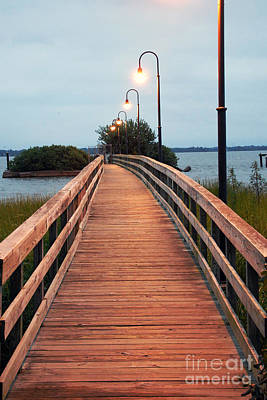 Photograph - Walking Bridge by Scott D Welch