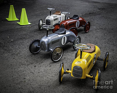 Photograph - Walking Cars by Ronald Grogan