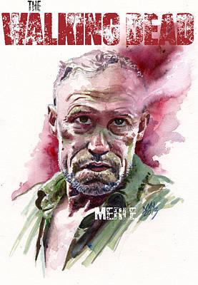 Walking Dead Merle Original by Ken Meyer jr