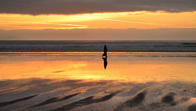 Photograph - Walking Inch Beach by Barbara Walsh