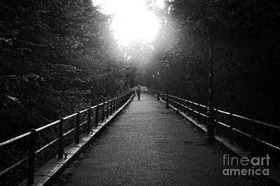 Photograph - Walking Into The Light by David Warrington