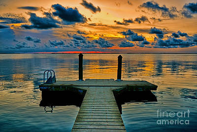 Photograph - Walking Into The Sunset by Olga Hamilton