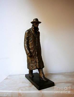 Walking Man Print by Nikola Litchkov