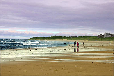 Digital Art - Walking The Dog After A Storm by William Sargent