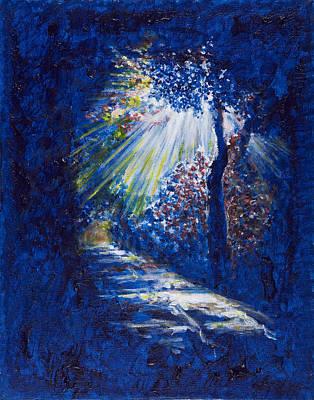 Oneself Painting - Walking The Path by Sviatoslav Alexakhin