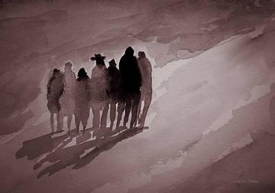 Walking The Path Art Print