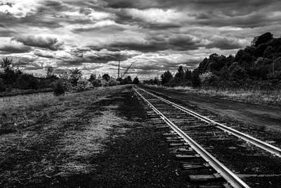 Photograph - Walking The Rail by Bob Orsillo