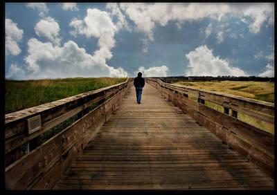 Photograph - Walking The Walk by Katie Wing Vigil