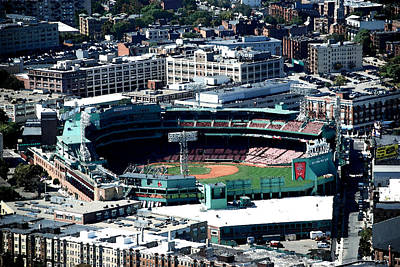 Photograph - Walking Through Boston 9 - Fenway Park by Charlie Brock