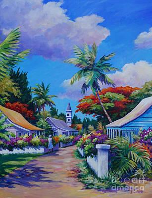 Acrylics Painting - Walking Through Eden  by John Clark