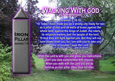 Walking With God Art Print