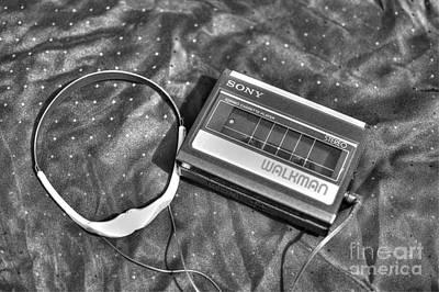 Walkman Photograph - Walkman Stereo Cassette Player by Robert Loe