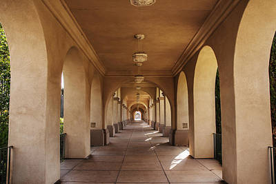 Photograph - Walkway At Balboa Park by Lee Kirchhevel