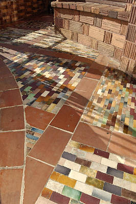 Mosaic Photograph - Walkway by Gabe Arroyo