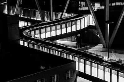 Photograph - Walkway Lines by John McArthur