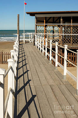 Photograph - Walkway To The Sea by Prints of Italy