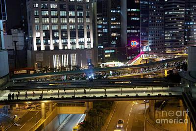 Walkways Of Hong Kong Art Print