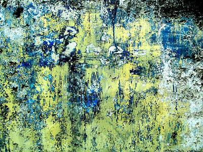 Art Print featuring the digital art Wall Abstract 27 by Maria Huntley