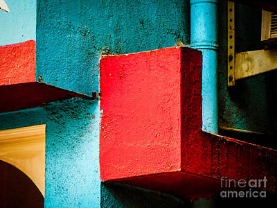 Photograph - Wall Abstract by Neville Bulsara