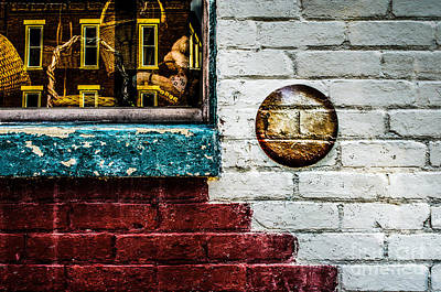 Photograph - Wall And Window by Michael Arend