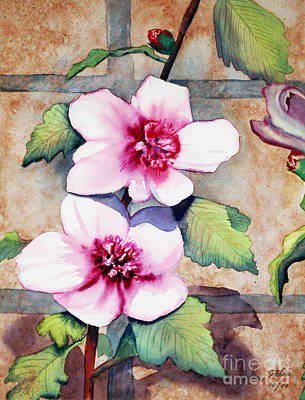 Stonewall Painting - Wall Flowers by Flamingo Graphix John Ellis