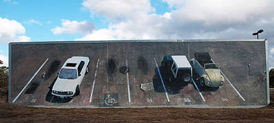 Wall Grabbers Art Print by Blue Sky
