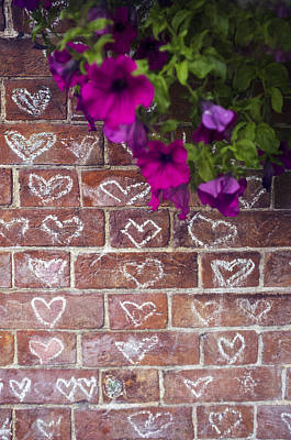 Photograph - Wall Love by Christopher Rees