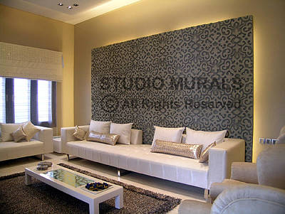 Siporex Sculpture - Wall Mural by Milind Badve