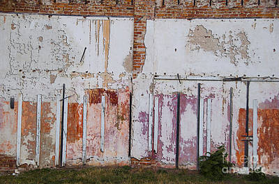 Urbanex Photograph - Wall Of Colors by Terry Rowe